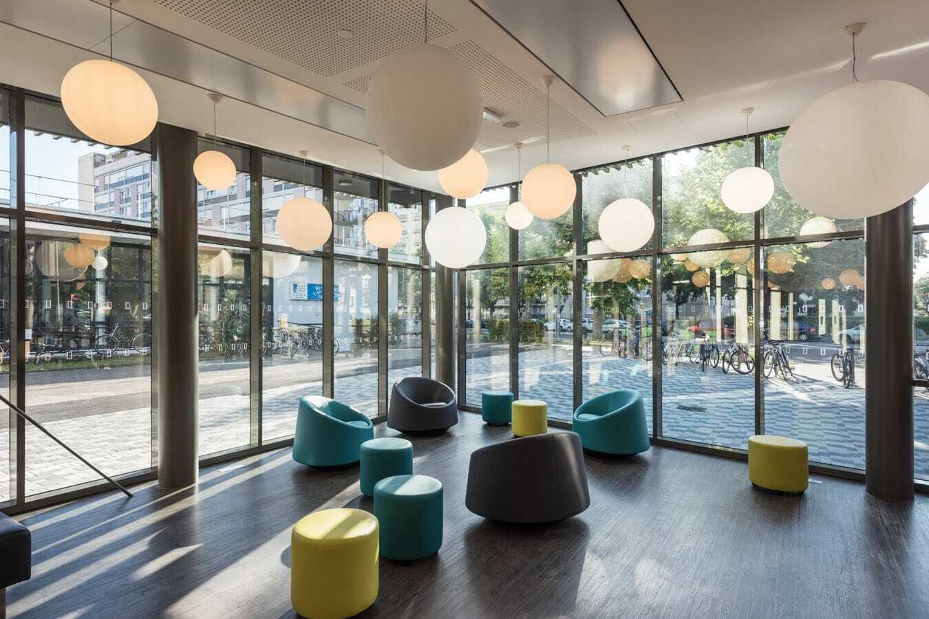 restaurant universitaire paul appell strasbourg un projet weber et keiling. Black Bedroom Furniture Sets. Home Design Ideas